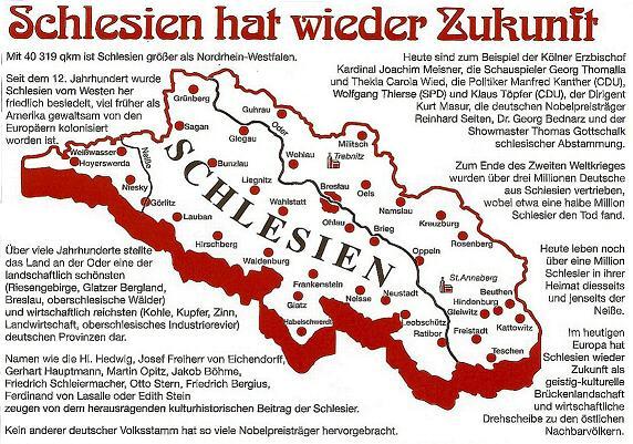 Schlesien Karte Heute.Landkarte Schlesien